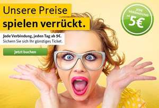 Postbus: Alle Fahrten ab 5€ bis 31.08.