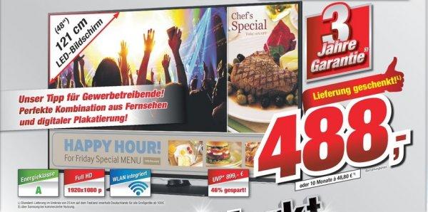 [Lokal Tootal Markt Delmenhorst und Bremerhaven] SAMSUNG LH48RMDPLGU/EN, 121 cm (48 Zoll), Full-HD, Professional Shop Display, 60 Hz LED Blue, DVB-T, DVB-C, DVB-C2 für 488,-€