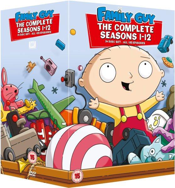 (Amazon.es) Family Guy Season 1-12 [English] O-Ton