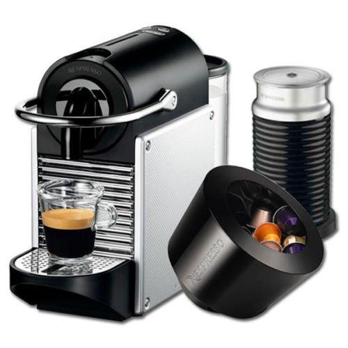 ebay.de - Nespresso DeLonghi Pixie EN 125.S inkl. 16 Kapseln + Kapseln Bonbonnière + Aeroccino3 Gutschein / Preis inkl. Versand: 89,99 € / Vergleichspreis: Maschine + Bonbonnière 116,00 €