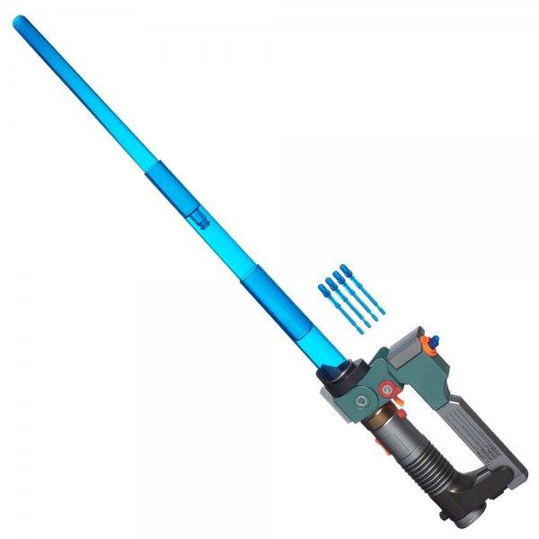 @Amazon Prime oder Buchtrick: Hasbro B0653EU4 - Star Wars Rebels Ezras elektronisches Lichtschwert mit Blaster / Idealo ab 38 €
