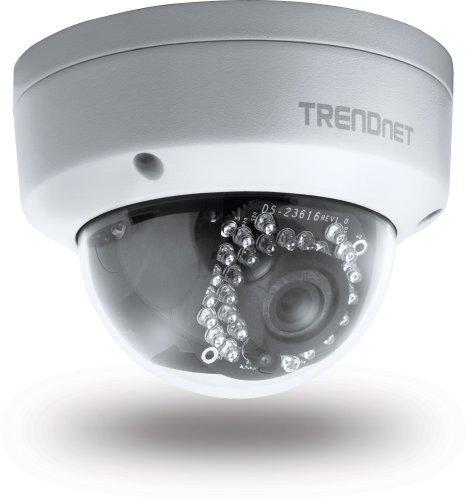 """""""Amazon Warehousedeal"""" Trendnet TV-IP311PI 3MP Full-HD PoE Tag-/Nacht-Netzwerkkamera für den Außengebrauch weiß"""