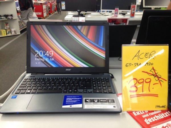 Acer E5-571-5930 mit i5 für 399€ im Media Markt