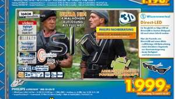 Philips 65 PUS 9809 High End zum absoluten Hammer Preis - auch im Onlineshop!