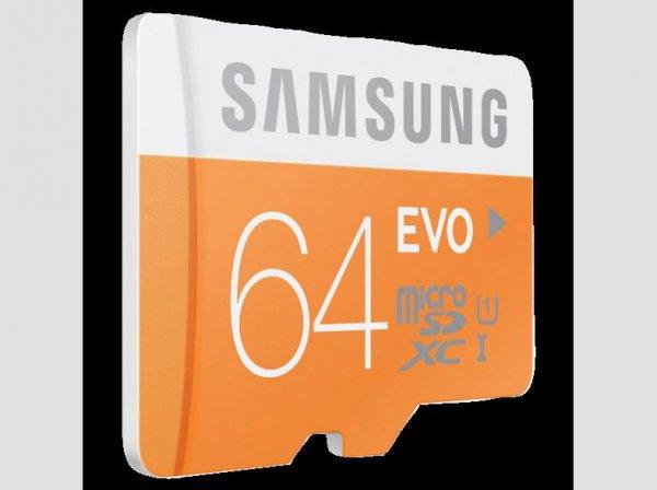 [Media Markt] SAMSUNG 64 GB microSDXC Class 10 EVO mit Adapter