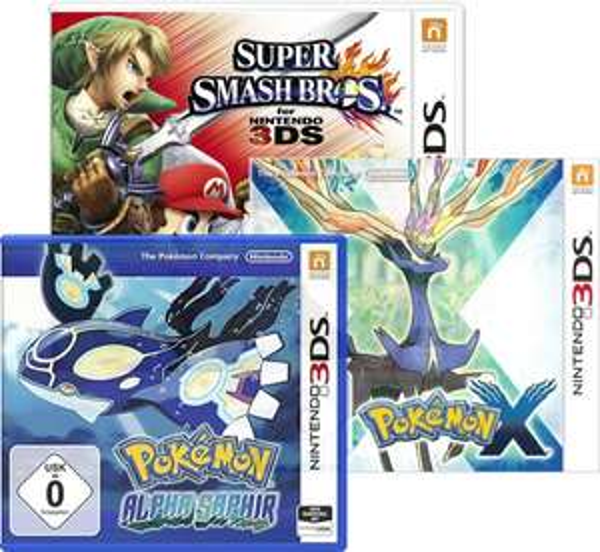 [Amazon Prime] Super Smash Bros. oder Pokémon für 26,61€ (Nintendo 3DS)