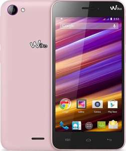 "Wiko Jimmy - Dual-SIM , Android, Quad-Core, 4,5"" Display, 4GB Speicher + mSD-Slot, pink - 79€ @ Cyberport.de"