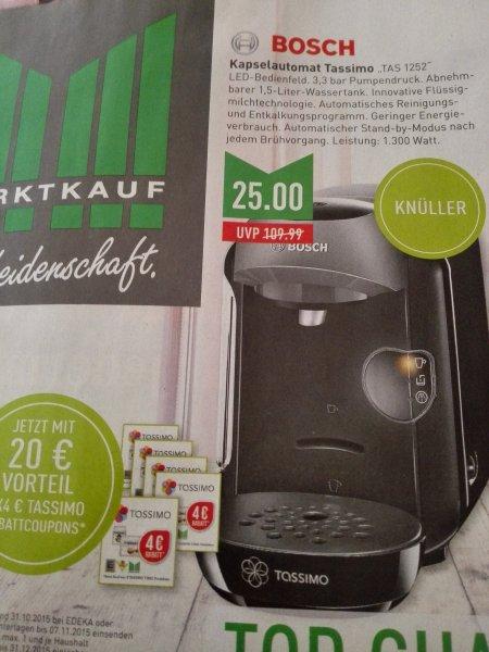 Bosch Tassimo TAS 1252 für 25€ @ marktkauf nrw