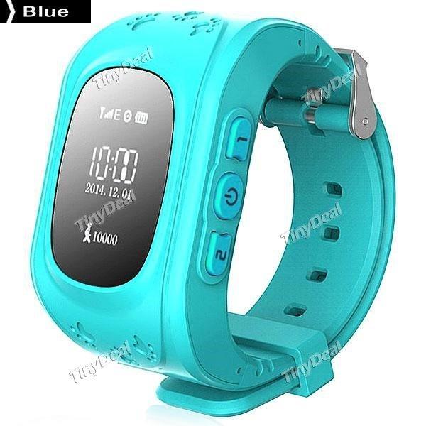 W5 KINDER Smartwatch mit GPS TRACKER , SIM FUNKTION, Anti-LOST sowie SOS - Funktion + App für iOS, Android bei Tinydeal