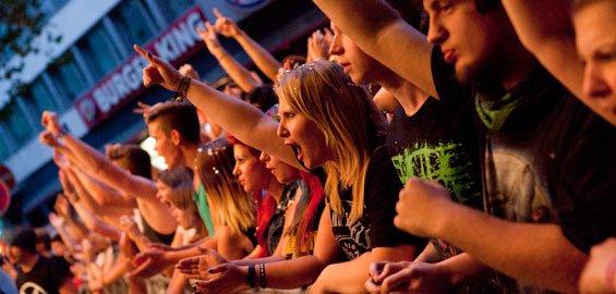 Köln : 7 -9.8.2015  Cityfestival Konzerte mit u.a Andreas Bourani, LaBrassBanda, OK Kid, Feuerherz - freier Eintritt