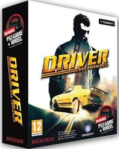 [Saturn.de] Driver: San Francisco inkl. Lenkrad - PlayStation 3 für 5€ !