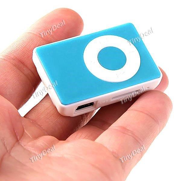 Clip-MP3 Player mit Micro-SD Slot