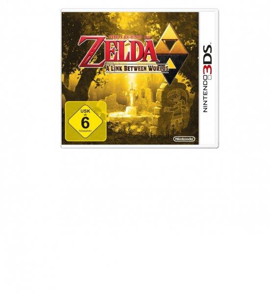 Amazon Prime: The Legend of Zelda: A Link Between Worlds (3DS) 27,73 Euro
