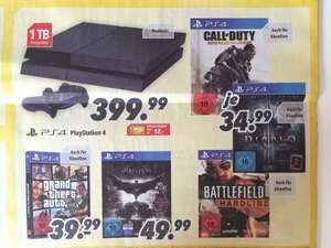 GTA 5 & Battlefield Hardline & D3 Reaper of Souls UEE für PS4/One @MEDIMAX