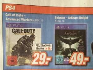 Call of Duty Advanced Warfare für 29,00 @ Expert Klein (Friedberg)