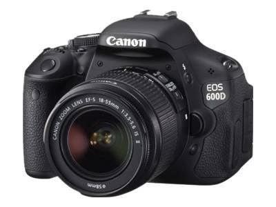 CANON EOS 600D Digital Spiegelreflex testsieger STIWA -mit objektiv- 579.- EBAY WOW