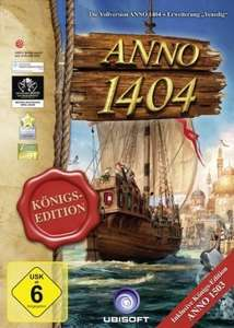 Anno 1404 Köngis Edition für 3,95 bei GamesRocket.de *Key per Mail*