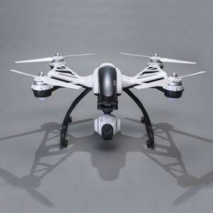 Yuneec Q500 Quadrocopter 12 MP Full-HD Kamera + Alukoffer und Handgimbal SteadyGrip [D-Edition]