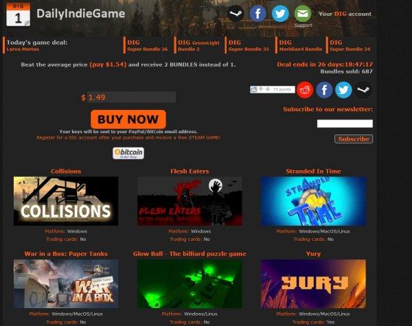 Superbundle 36, $1.49, Daily Indie Game [alle games STEAM]