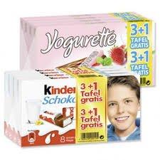 Globus Hattersheim: ~Kinderschokolade/Yogurette~