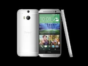 HTC One M8s glacial silver / amber gold