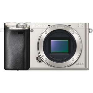 Sony Alpha A6000 body silber