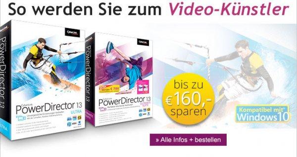 CyberLink PowerDirector 13 Ultra für 39.95€ @ edv-buchversand.de