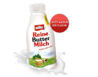 [NETTO MIT SCOTTI] 3x Müller Reine Buttermilch 500ml für 1,38€ = 0,46€/Stück