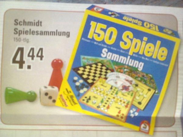Lokal ? Schmidt Spielesammlung 150 Spiele bei Edeka