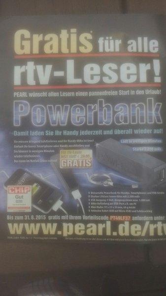 4,90€ pearl powerbank