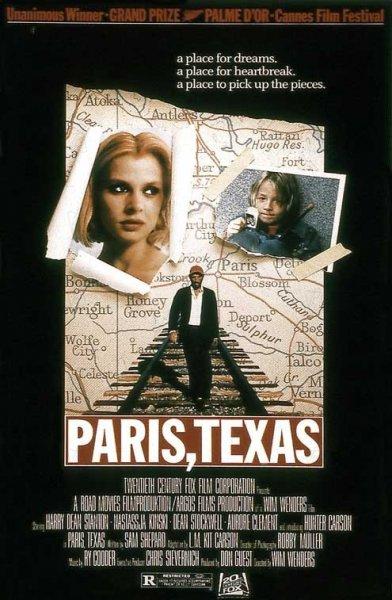 ARTE : Wim Wenders Meisterwerk  : Paris, Texas von 1984 gratis zum streamen