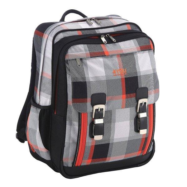 [Amazon] 4You Flash Edition Schulrucksack Classic Plus mit Laptopfach 43 cm für 39,95€