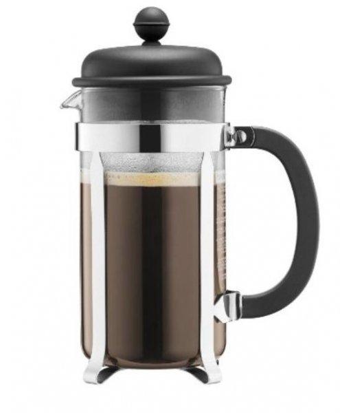 (OFFLINE: Ihr Kaufpark + teilweise REWE) Bodum Caffettiera 1 Liter (8 Tassen) schwarz für 17,99 Euro