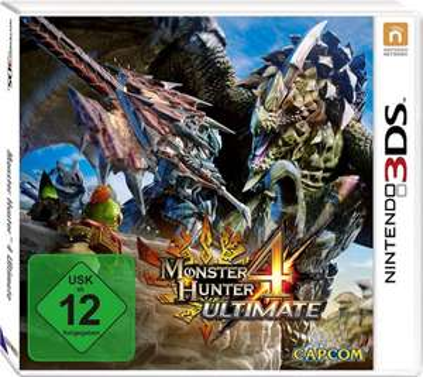 Monster Hunter 4 Ultimate 3ds Amazon