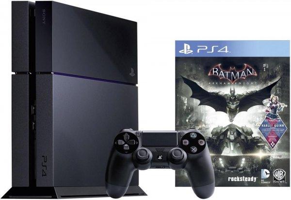 [eBay Wooow Angebot] Sony PlayStation 4 500GB Jet Black + Batman: Arkham Knight