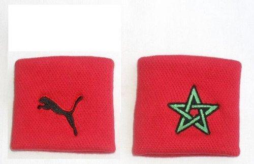 Puma / Marocco Schweißbänder 2´er Set rot / 3,99 inkl. Lieferung