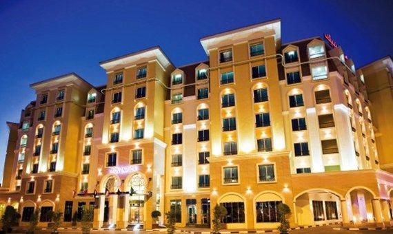 5***** Hotel VAE Dubai August Mövenpick Hotel Deira @ Asia Travel nur 66€
