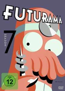 Futurama - Season 1-7 (DVD), je 11,97€ bei amazon.de (8,97€ mit prime)