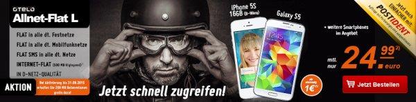 Otelo Allnet Flat L Vertrag mit LG G4 32GB (Vodafone, UMTS)