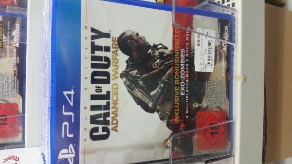 [Lokal] Media Markt Fulda - Call of Duty: Advanced Warfare Gold Edition + DLC 1 EXO ZOMBIES / Preis: 29,00 € / Vergleichspreis: 64,99 €