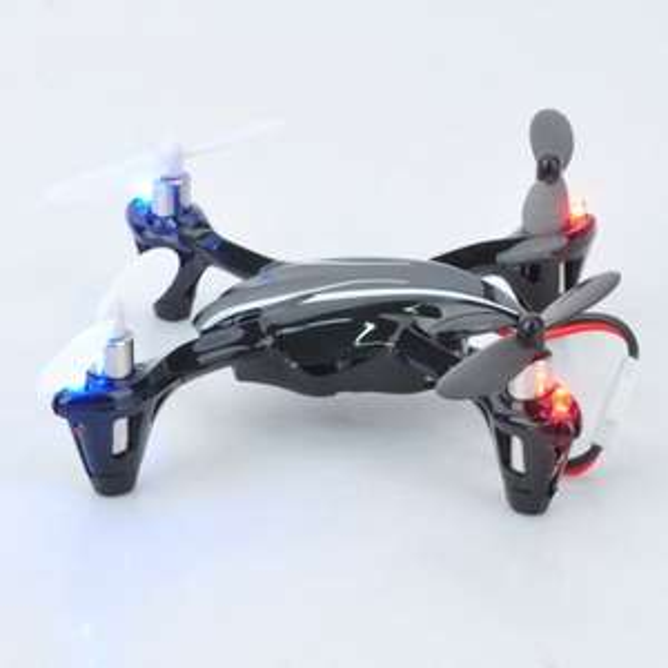 LED Mini-Drone Hubsan X4 V2 H107L 2.4GHz R/C 4-CH 6-Axis Fernbedienung mit Digitalanzeige @allbuy