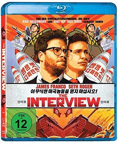 amazon.de - The Interview Blu-ray oder DVD / Preis inkl. Versand (Prime): 9,99 € / Vergleichspreis: 14,99 €