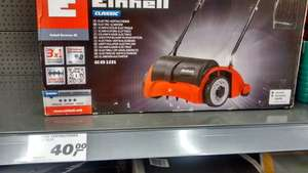 [lokal - Real - Bremen] Elektro Vertikutierer Einhell GC-ES 1231
