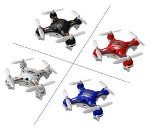 FQ777-124 Pocket Drone 4CH 6Axis Gyro Quadcopter With Switchable Controller RTF 21% OFF @ Banggood