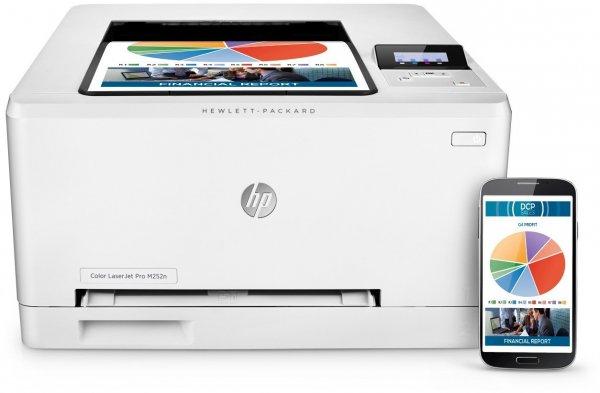 HP LaserJet Pro M252n Farblaserdrucker Drucker weiß, 159,90 EUR @ amazon