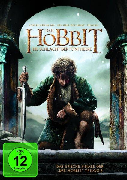 [LOKAL Saturn Köln] Der Hobbit - Die Schlacht der fünf Heere - DVD € 4,99 - BLURAY € 7,99