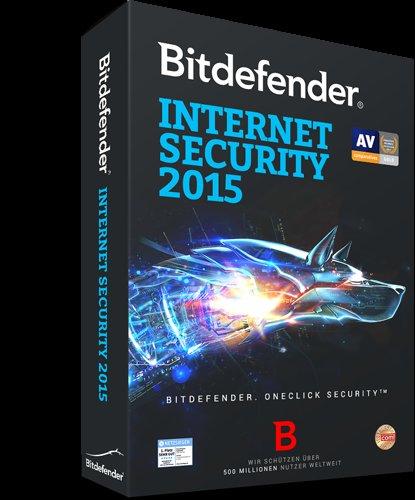 BitDefender Internet Security 2015 für 1 PC für  9 Monate kostenlos