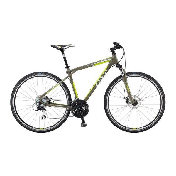 GT Bikes   TRANSEO 3.0 Urbanbike   oliv-grün