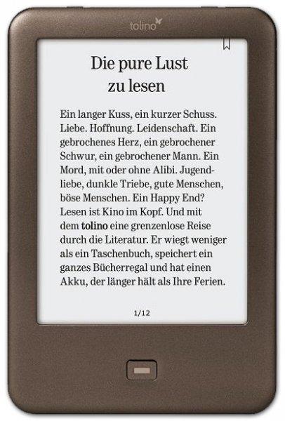 Tolino Shine - eBook Reader für 69€ bei Hugendubel