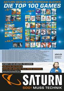 [Lokal Saturn Berlin/Potsdam] Berlins Top 100 Games für 9,99€/19,99€/29,99€/44,99€